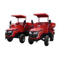 雨林有机肥撒肥车 自带动力轮式施肥车