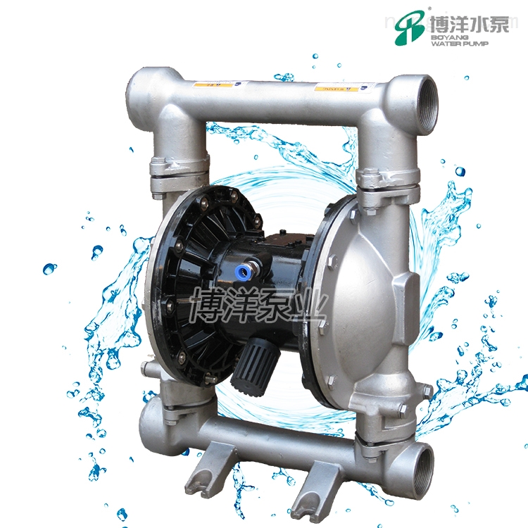 QBK第三代气动隔膜泵寿命长不会停顿