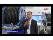 江苏华源JP110-500Y大型卷盘式喷灌机视频详解---2018国际农机展