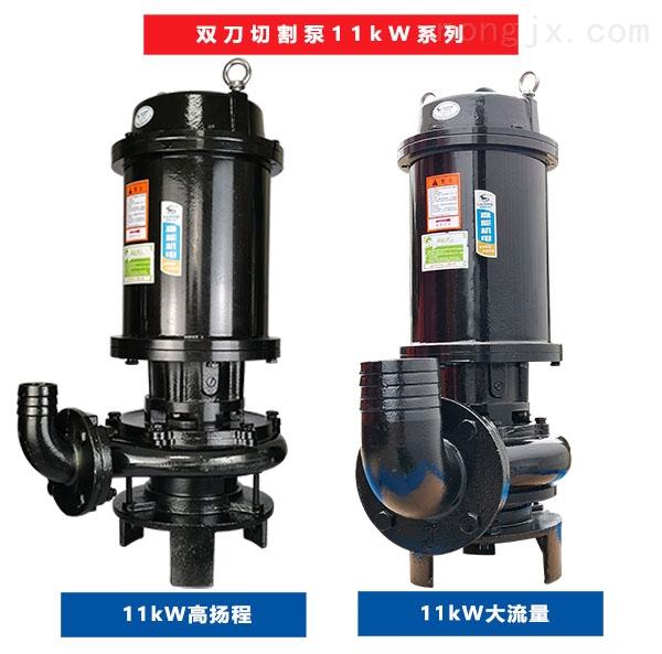 ZJ-11-100-JN双刀切割泵的各种型号外观图