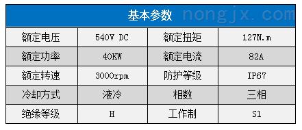 硕博电子40KW水冷动力总成 MSP38-040S127X3000H210