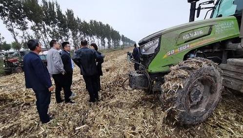 农业农村部来淄博市调研龙8购置补贴政策情况