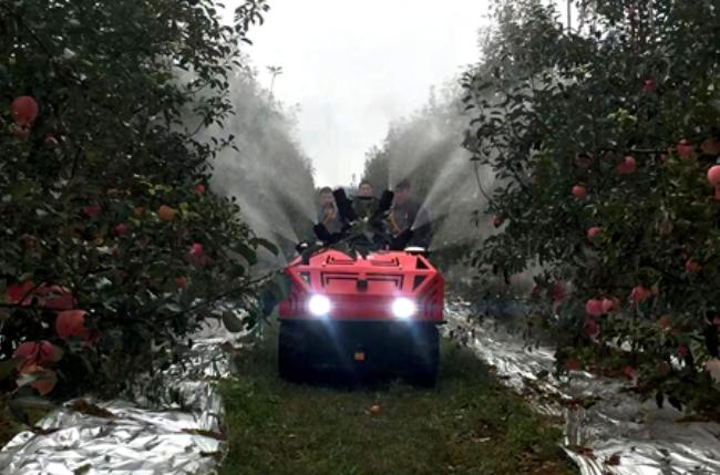 山東省林果業生產全程機械化技術培訓班在臨沂市舉辦